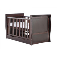 Baby Elegance Sleigh Cot Bed - Coco
