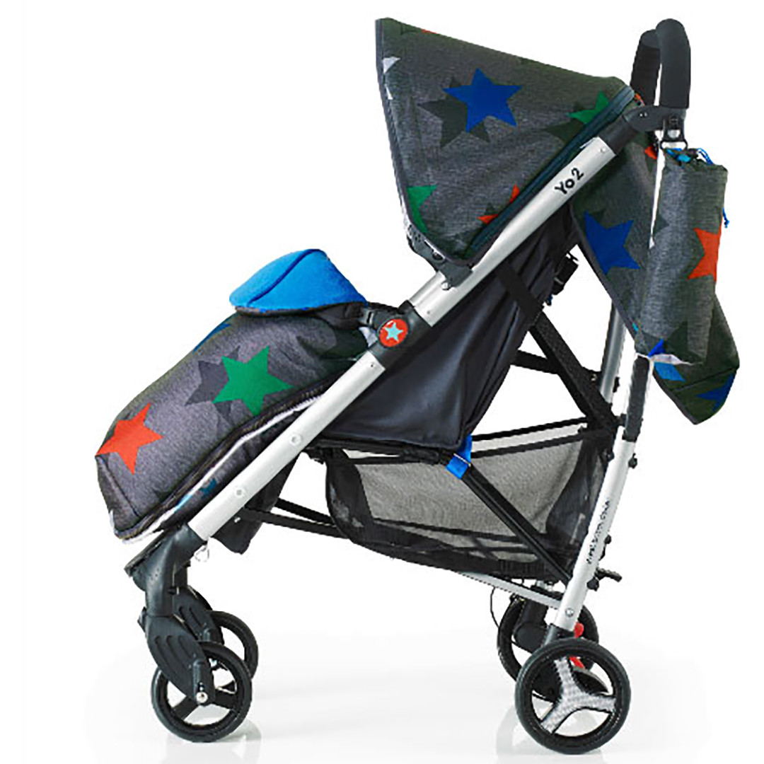 Cosatto Yo 2 Stroller - Grey Megastar