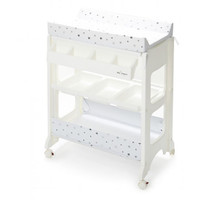 Baby Elegance Changing Unit with Bath - Grey Star