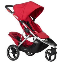 Phil & Teds Dash Inline Pushchair + Double Kit + Lazy Ted + Storm Cover