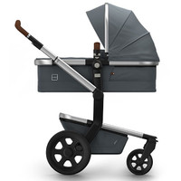 Joolz Day 2 Earth Pushchair + Carrycot + Footmuff + Cabriofix Car Seat + Easyfix Base - Hippo Grey