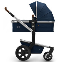 Joolz Day 2 Earth Pushchair + Carrycot + Footmuff + Cabriofix Car Seat + Easyfix Base - Parrot Blue
