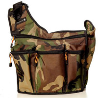 The Daddy Bag Changing Bag - Camo Green