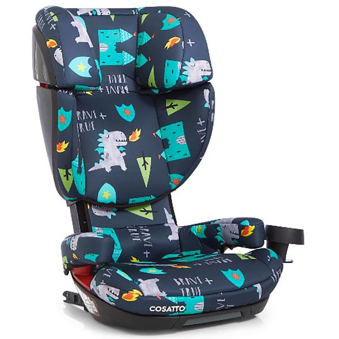Cosatto Skippa Fix Group 2 3 Car Seat - Dragon Kingdom - Eurobaby