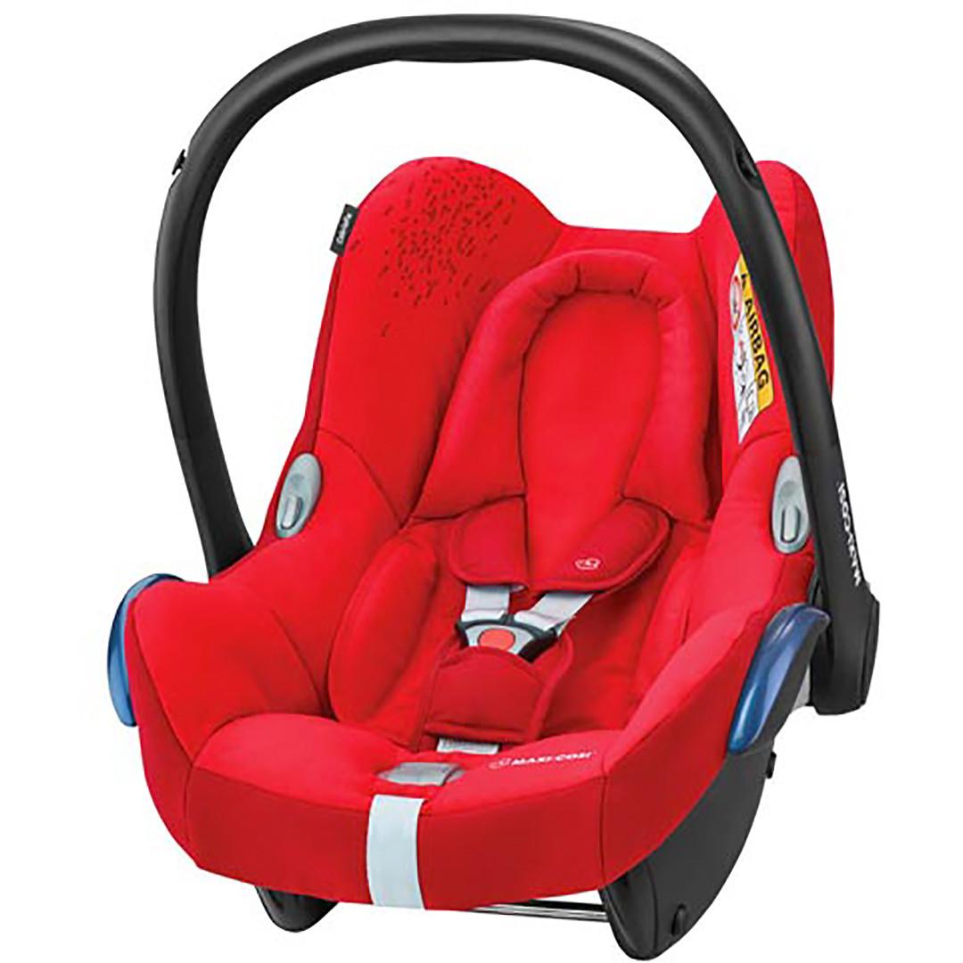 Maxi Cosi Cabriofix Infant Car Seat 2018 - Vivid Red - Eurobaby