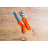 Nanaƒ??s Manners Cutlery Jeddie Orange