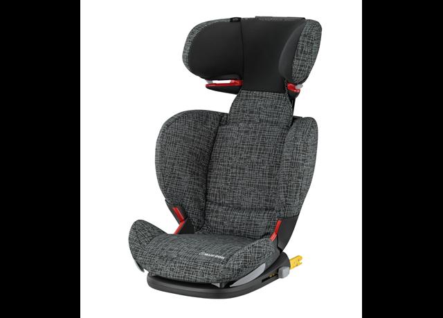 Maxi Cosi Rodifix Air Protect Child Car Seat- Black Grid - Eurobaby