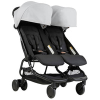 Mountain Buggy Nano Duo- Silver