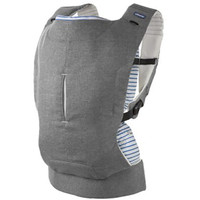 Chicco MyAmaki Baby Carrier- Grey Stripes
