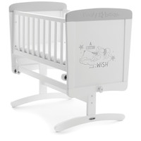 OBaby Winnie the Pooh Crib Dreams and Wishes- White