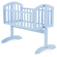 OBaby Sophie Swinging Crib- Bonbon Blue