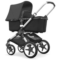 Bugaboo Fox- Black with Aluminium Chassis