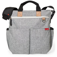 Skip*Hop Duo Signature Changing Bag -  Grey Melange