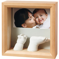 Baby Art My Baby Sculpture Frame- Honey