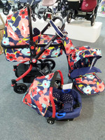 Cosatto Ooba Travel System- Proper Poppy **FLOOR MODEL ONLY**