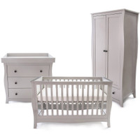 Little House Brampton 3 Piece Furniture Set + FREE Mattress- Grey