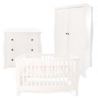 Little House Brampton 3 Piece Furniture Set + FREE Mattress- White