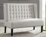 Beauland Ivory Accent Bench
