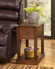 Breegin Brown Chair Side End Table