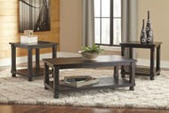 Mallacar Black Occasional Table Set
