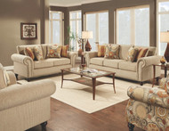 Fairly Sand Collection includes sofa and matching loveseat