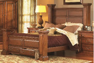 Torreon King STORAGE BED IN PINE FINISH