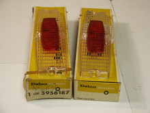 1965 Cadillac Tail Light Lenses NOS