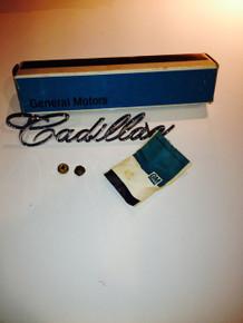 1967 Cadillac Eldorado Grill Script
