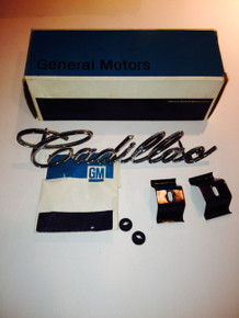 1967 Cadillac NOS Grill Script