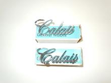NOS Cadillac Calais Script