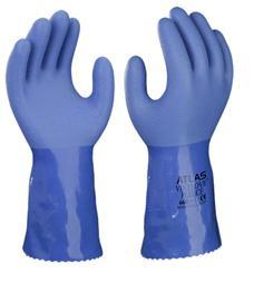 """12"""" ATLAS® Vinylove Fully Coated PVC Gloves  ##660 ##"""