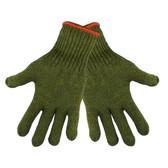 Green Rag Wool Gloves  ##S77RW ##