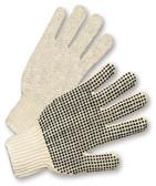 PVC Palm Dot String Knit Gloves  ##PD100 ##