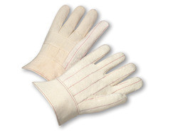 24oz Hot Mill Band Top Canvas Gloves  ##320 ##