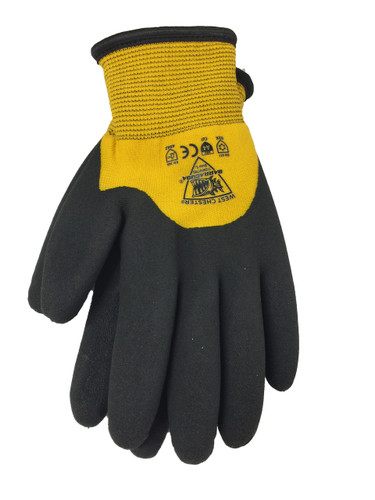 Insulated, Knuckle Dipped Bi-polymer Cut Resistant Gloves  ## 713WCG ##