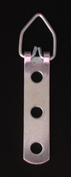 Small Three Hole D-Rings - SHIPS FREE - Order 2 or more and receive $3.50 off each one (up to 5)