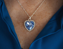 Romantic Heart Crystal Necklace