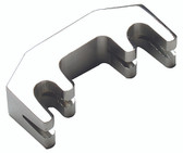 Violin Metal Mute 4 Pronged Chrome Plated #VN3