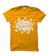 BOOM!!! Comic Book Burst Adult T-Shirt