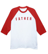 Retro Father Baseball T-Shirt