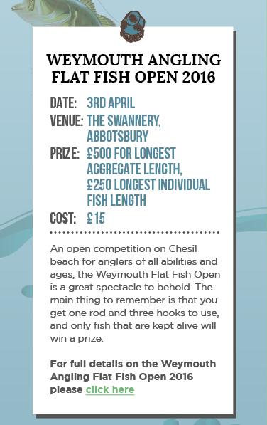 Weymouth Angling Flat Fish Open 2016