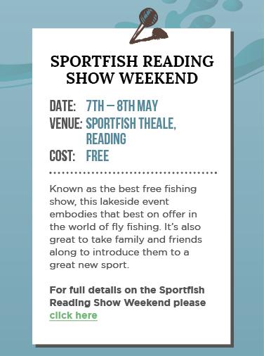 Sportfish Reading Show Weekend 2016