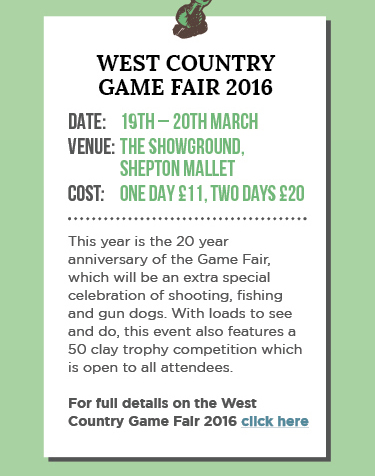 West Country Game Fair 2016