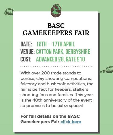 BASC Gamekeepers Fair 2016