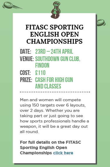 FITASC Sporting English Open Championships 2016