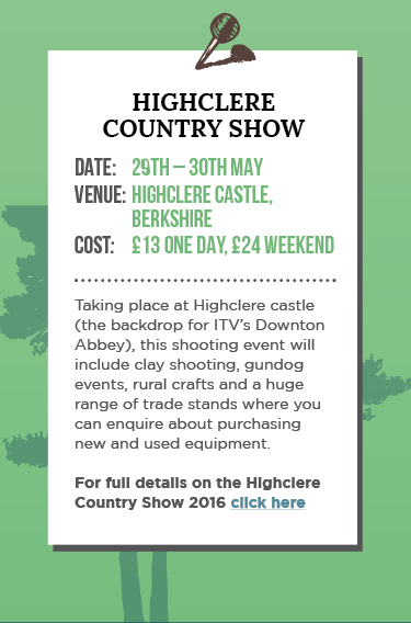 Highclere Country Show 2016