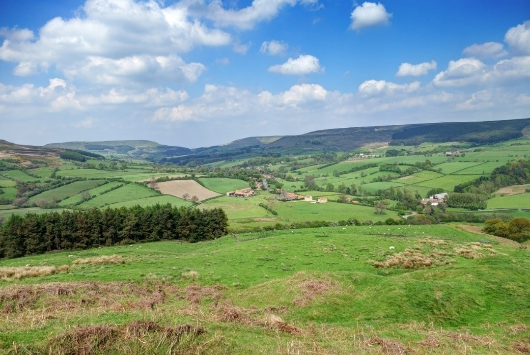 Bilsdale in the Yorkshire Moors