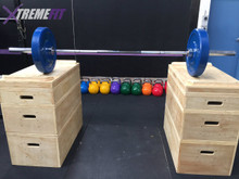 XtremeFit Wood Jerk Blocks (RRP $1195)(New Year Deal)