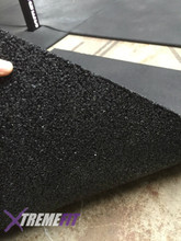 Rubber matting awesome for training on.