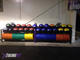 Wall bell and olympic plate holder perfect for any crossfit gym